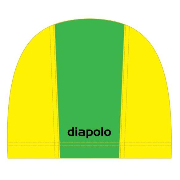 Schwimmkappe-grün/gelb lycra