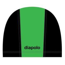 Schwimmkappe - grün-schwarz  lycra
