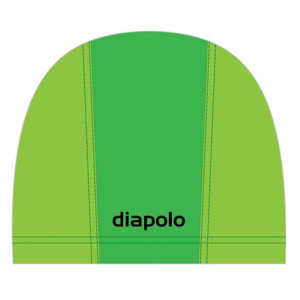 Schwimmkappe-grün/hellgrün lycra