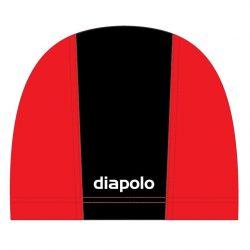 Schwimmkappe - schwarz-rot lycra