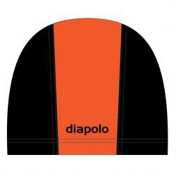 Schwimmkappe - orange-schwarz lycra