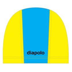 Schwimmkappe - hellblau-gelb lycra