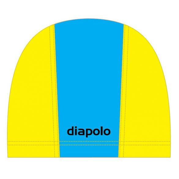 Schwimmkappe-hellblau/gelb lycra