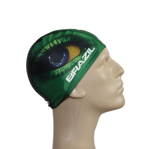 Schwimmkappe-Brasil 1 lycra