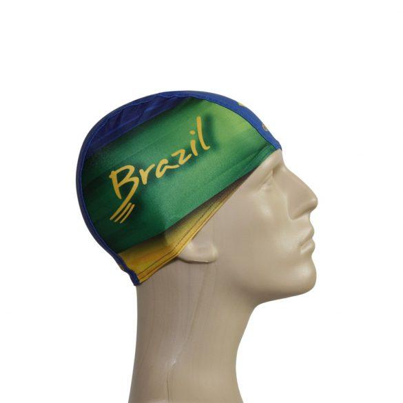 Schwimmkappe-Brasil 2 lycra
