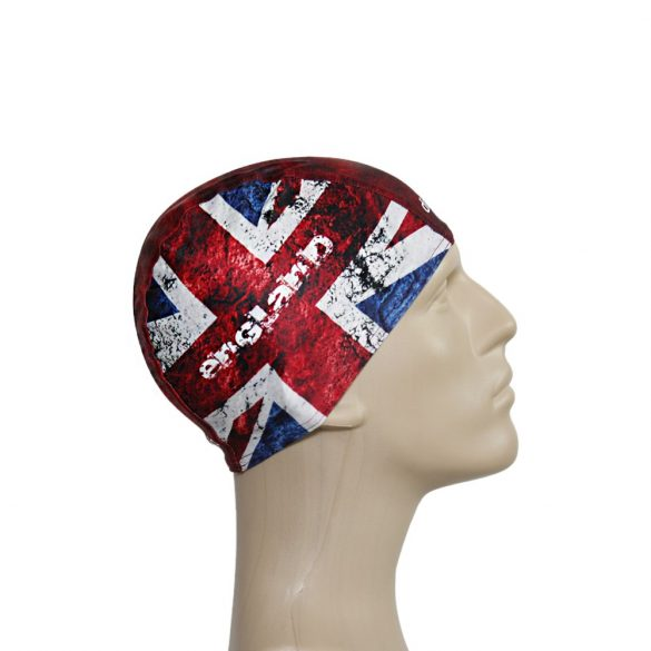 Schwimmkappe-England lycra