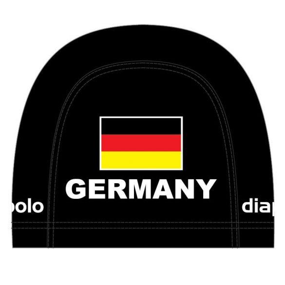 Schwimmkappe-Germany1 lycra-schwarz