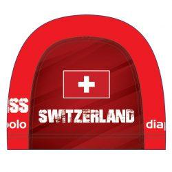 Schwimmkappe - Switzerland lycra