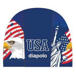 Schwimmkappe -USA lycra