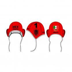 Mexiko-Wasserballkappe-rot