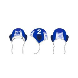 Wasserballmütze blau