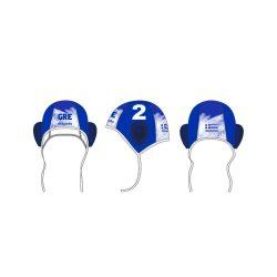 Griechische Wasserball Nationalmannschaft - Wasserballkappe blau
