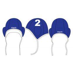 Wasserball Kappe-blau