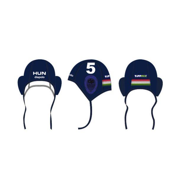 Ungarische Wasserball-Nationalmannschaft-Wasserballkappe-blau