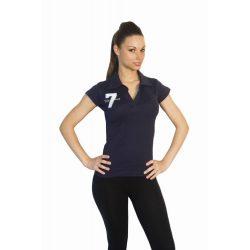Damen Poloshirt-Design 2 gestickte