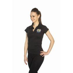 Damen Poloshirt-Design 3 gestickte