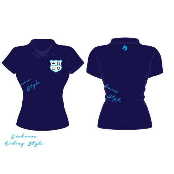 Polo Shirt Embroidered Diahorse