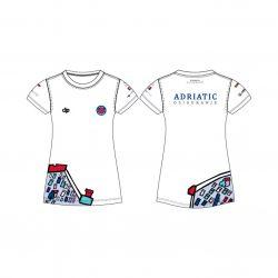 "Jug Dubrovnik - ""Bahama"" Damen Funktion T-Shirt Weiß"
