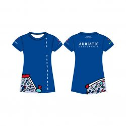"Jug Dubrovnik - ""Bahama"" Damen Funktion T-Shirt Blau"