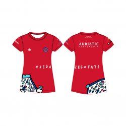 "Jug Dubrovnik - ""Bahama"" Damen Funktion T-Shirt Rot"