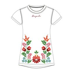 Damen T-shirt - BAHAMA HUN2 weiss