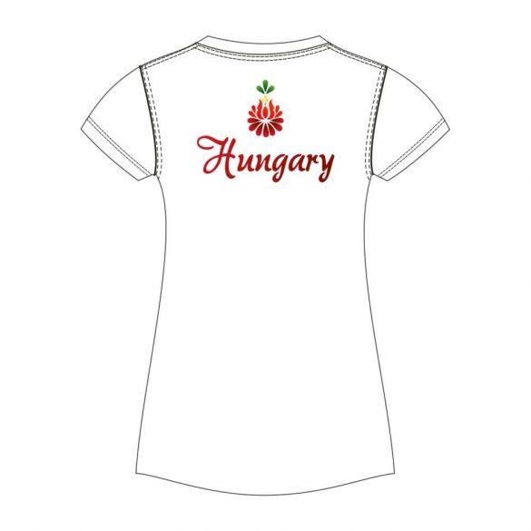 Damen T-shirt-BAHAMA HUN2-weiss