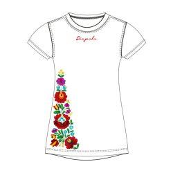 Damen T-shirt - BAYAMO Ungarische Muster