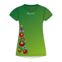 Damen T-shirt - BAHAMA HUN1 grün