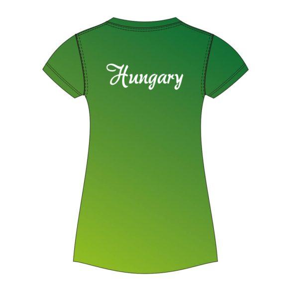Damen T-shirt-BAHAMA HUN1-grün