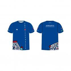 "Jug Dubrovnik-""Duna"" Herren Funktion T-shirt-blau"
