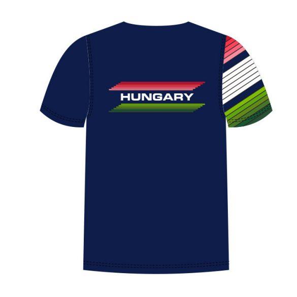 Ungarische Wasserball-Nationalmannschaft-Herren Funktion T-Shirt Duna