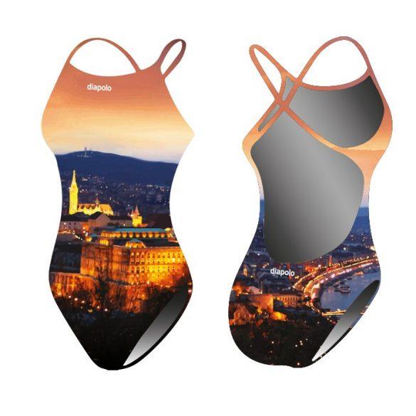 Damen Schwimmanzug-Hungaricum mit breiten Trägern