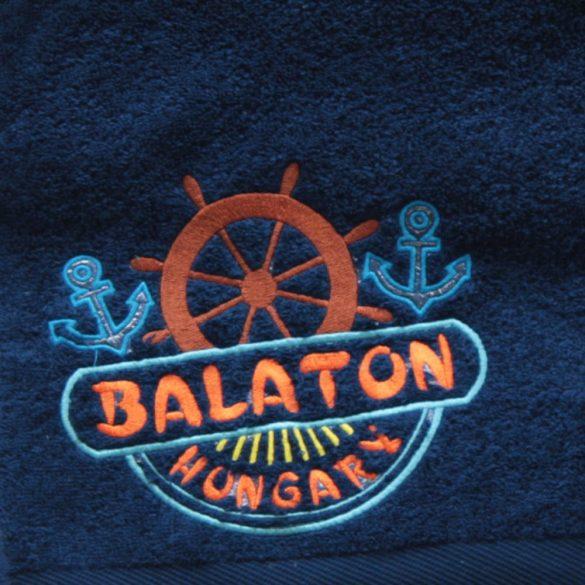 Handtuch-Balaton navyblau (50x102)