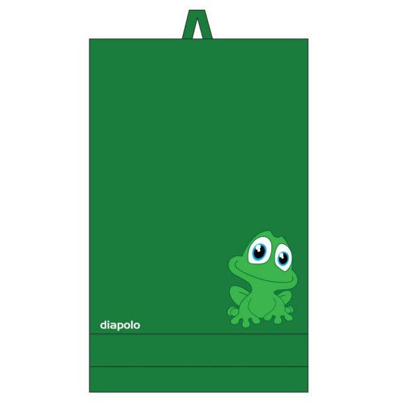 Handtuch-grün mit Frosch (70x140 cm)