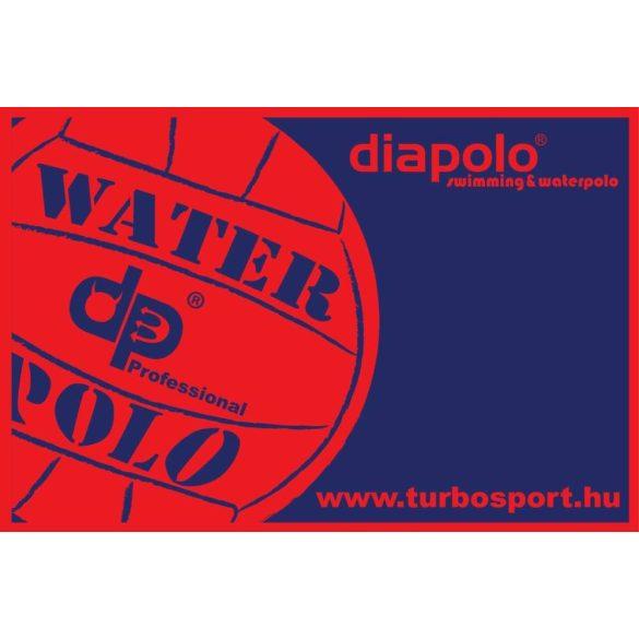 Handtuch-Wasserball-dunkelblau/rot (100x150 cm)
