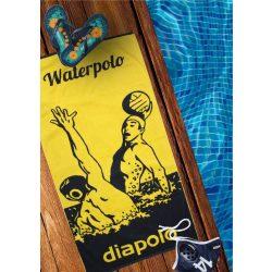 Handtuch - Wasserball dunkelblau-rot 100 x 150 cm