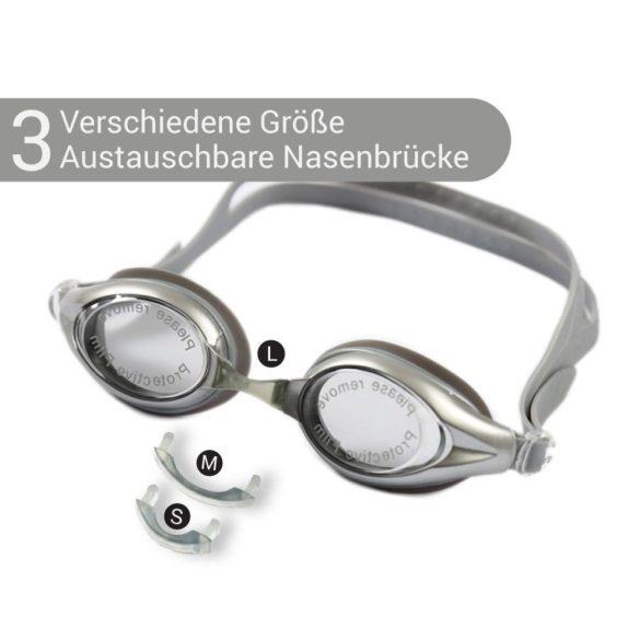 Schwimmbrille-NOX-grau