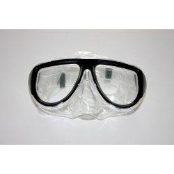 Taucherbrille - schwarz