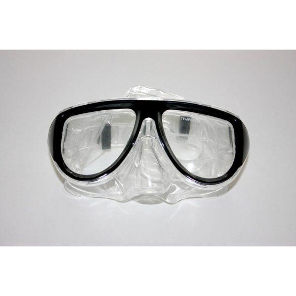 Taucherbrille-schwarz