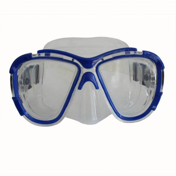 Taucherbrille-blau