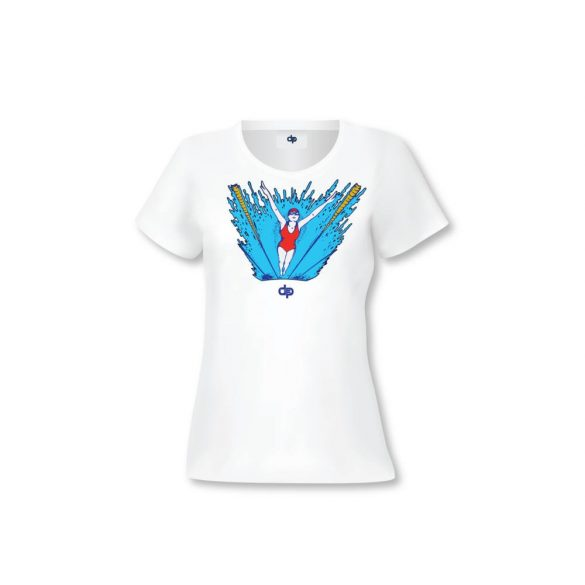 Damen T-shirt-SWIMMING WOMAN 2