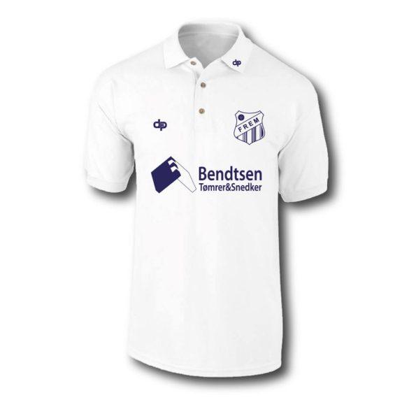 Frem-Herren Polo Shirt-weiss