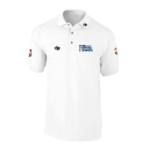 Waspo Hannover-Poloshirt-weiss