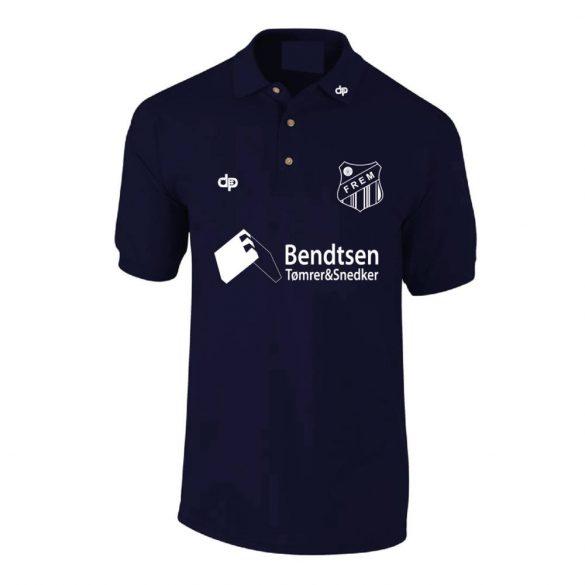 Frem-Herren Polo Shirt-marine