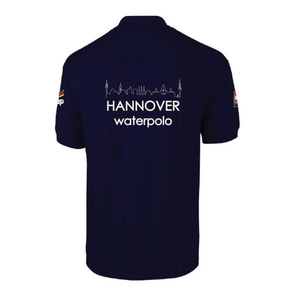 Waspo Hannover-Poloshirt-dunkelbalu