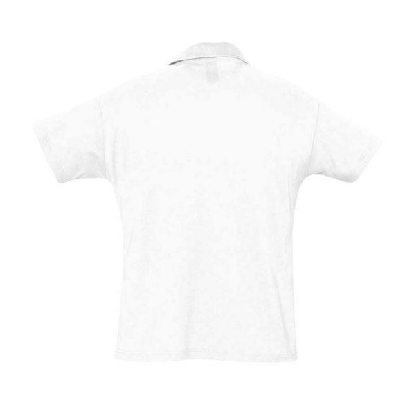 Herren Poloshirt-weiss