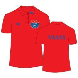 Vasas - Poloshirt rot