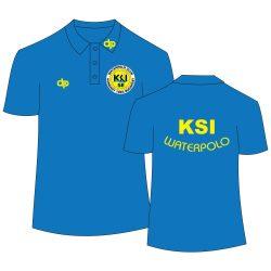 KSI - Poloshirt royalblau