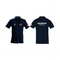 Georgia-Polo shirt-navy blau
