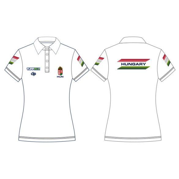 Ungarische Wasserball-Nationalmannschaft-T-Shirt-weiss